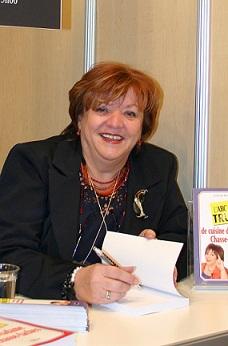 Madame Chasse-taches au salon du livre 2008